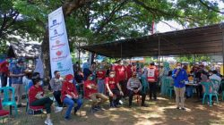 KNPI Makassar Kerjasama  PT. EPFM Sasar Warga Ujung Tanah Adakan Vaksinasi