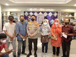 Inilah Keakraban Dan Kebersamaan Awak Media di Makassar Saat Silaturahmi Kabid Humas Polda Sulsel